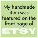 39 Times On ETSY Front Page!