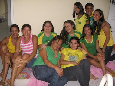 Torcendo pelo Brasil.