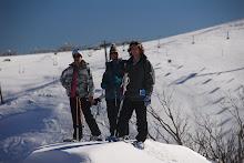 Snowshoers Mount Hotham