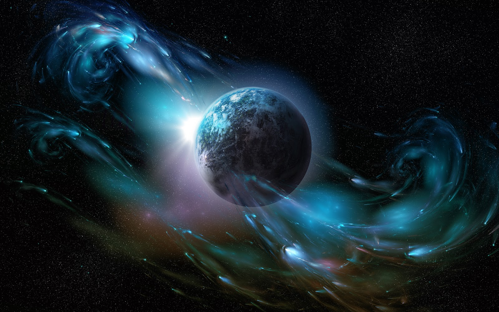 Free wallpaper outer space 5 for 3d outer space