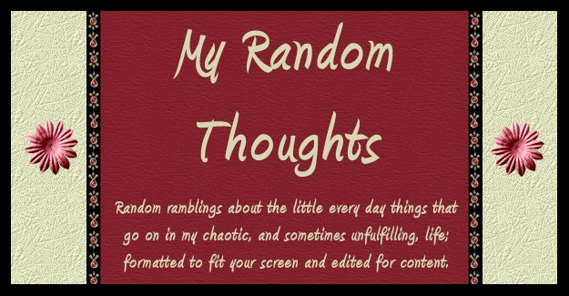 My Random Thoughts 2