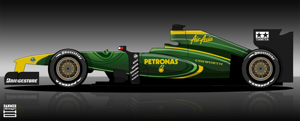 formula 1 logo 2011. team Lotus#39; 2011 F1 car is
