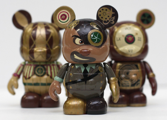 Star Wars Vinylmation Figures. The watch and figure