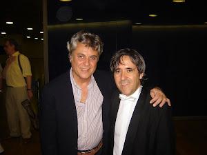 Bruno Aprea y Manuel Godoy