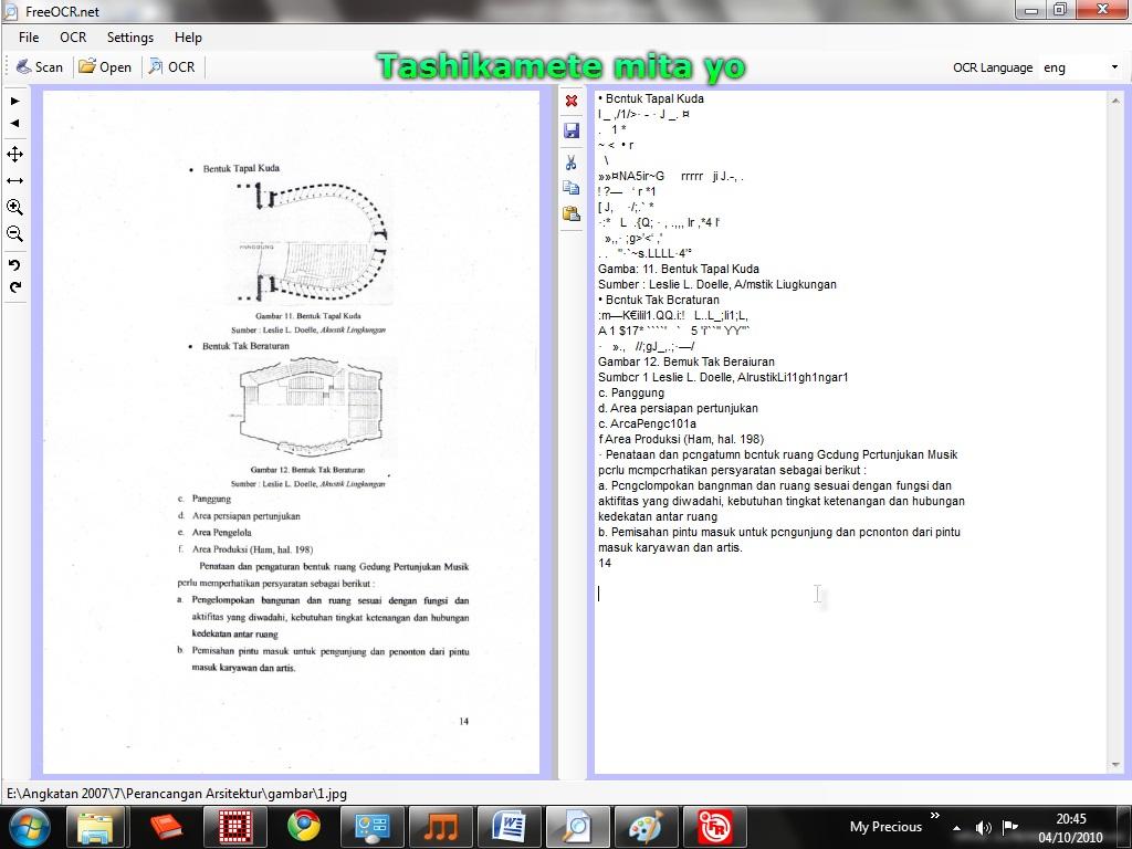 ... Konversi Image Hasil Scan dan PDF Menjadi Teks Tulisan   fariable