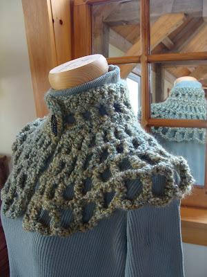 Free Divine Capelet Pattern | Crochet - Pinterest