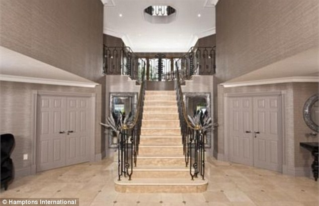 Foyer Stairs Xbox : Yes make it now katie price puts the past behind her by