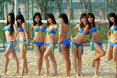 Acara Beach Party Fashion di Lagoi yang akan menampilkan parade bikini ...