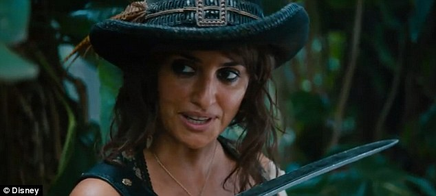 Johnny Depp and Penelope Cruz sizzle in newly-released Pirates of the