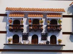 balcon en miniatura