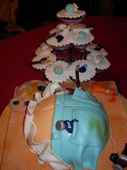 bolos engraçados para adultos