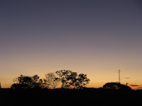 Another beautiful sunset with the Chikuni mast in the background