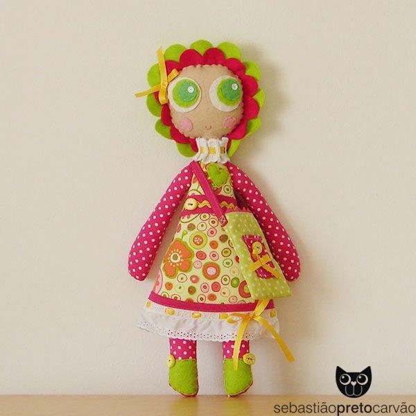 Шьем текстильных кукол мастер класс пошаговый #12