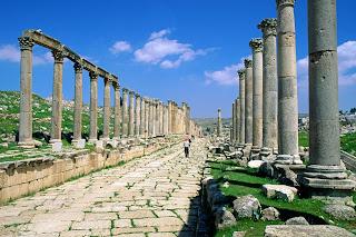 Greco Roman City Jerash Jordan