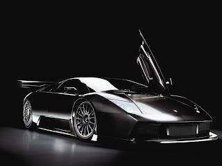 Black Lamborghini Murcielago GT