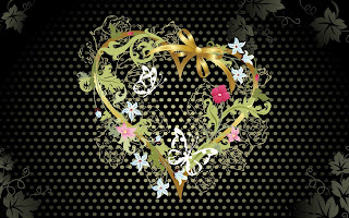 Heart As Gift Wallpaper