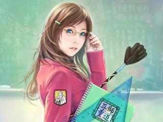 Student Girl Anime wallpaper