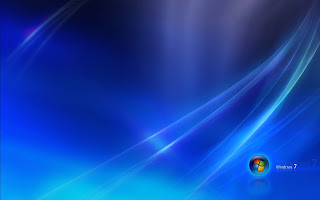 Windos 7 Blue wallpaper