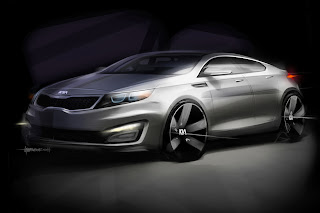 Kia Magentis 2011 wallpaper