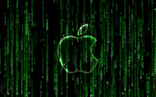 Matrix Apple wallpaper