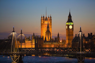 Big Ben and The House of parliament wallpaper