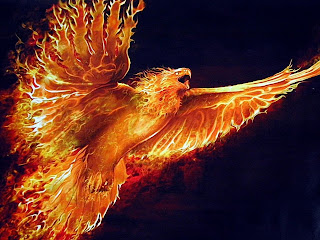 Fire Eagle wallpaper