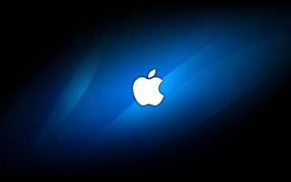 Apple Blue Light wallpaper