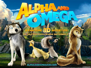 Alpha and Omega 3D wallpaper