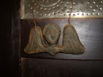 Beeswax tombstone angel