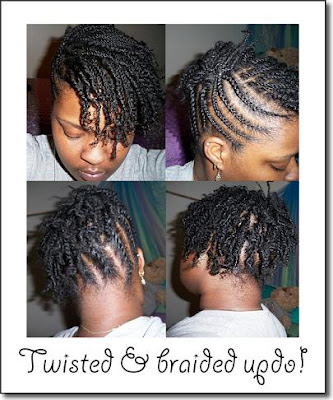 two strand twist hairstyles. large two strand twists;
