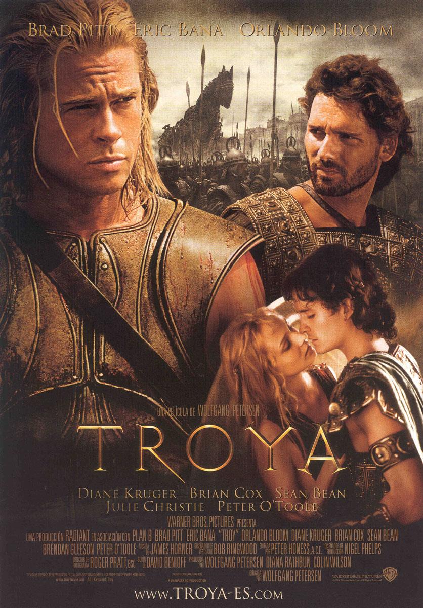 Brad Pitt Troy Movie