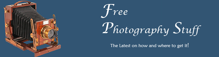 FREE Photography Stuff