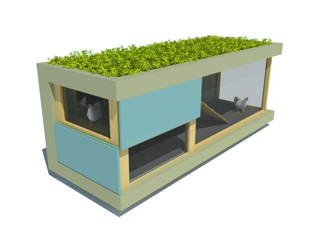 Pica coop design competition landscape urbanism for Modern chicken coop designs