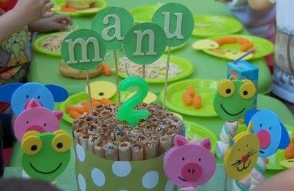 Decoración para cumpleaños infantiles del sapo pepe - Imagui