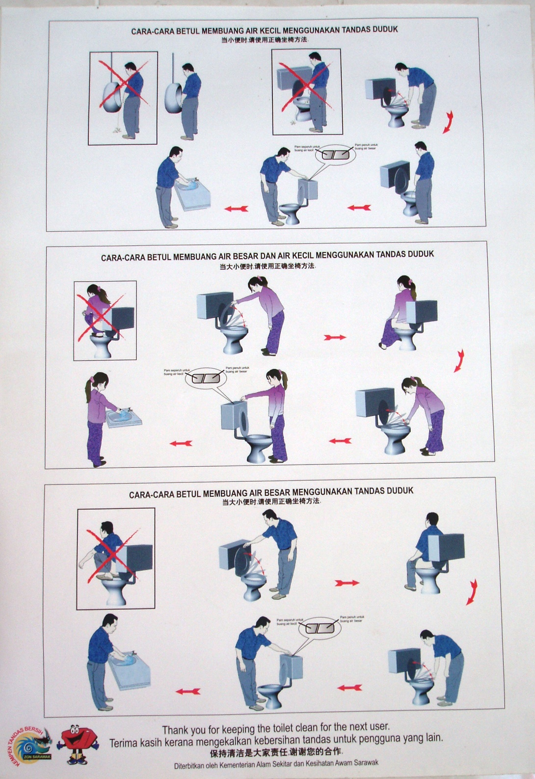 Toilet Instructions Manual Men Amp Women Weird Stuff
