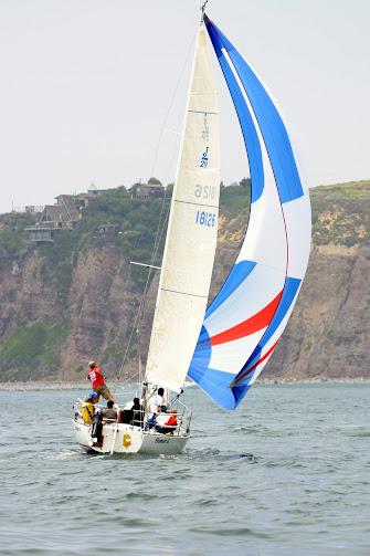 Racing off Dana Point Headlands