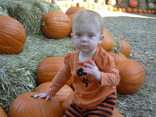 Parker in the Pumpkin Patch