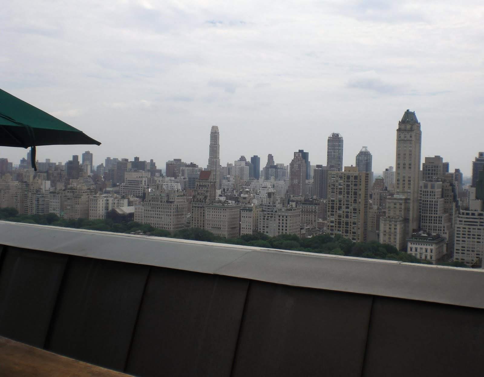 View from rooftop of the New York Athletic Club - YouTube