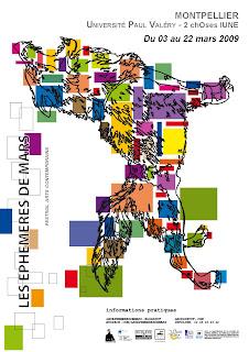 les éphémères de mars, le cri dévot, festival, Montpellier, exposition