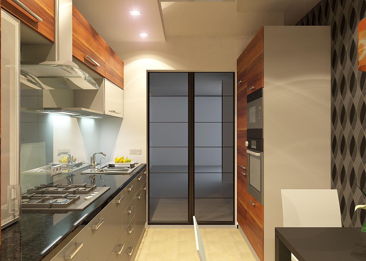 Дизайн кухонь с газовым котлом