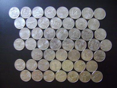 50 State Quarter Coins