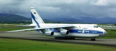 Antonov 124 visiting Brisbane