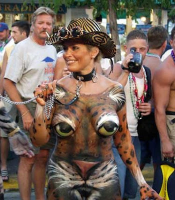 Body painting - Animal - Tiger