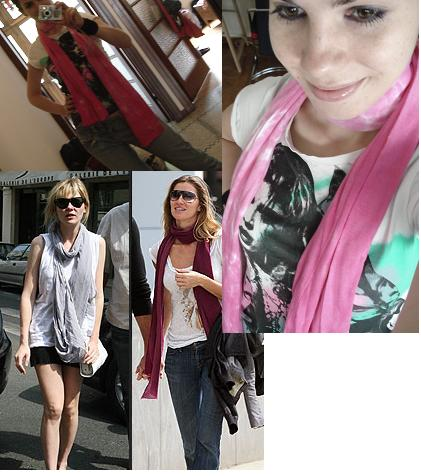 Summer Trend - The Scarf