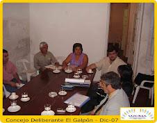 Concejo Deliberante EL GALPON - Dic-07