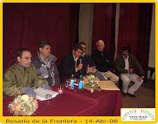 1ª Jornada de Disertación en Rosario de la Frontera