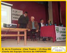 R. de la Frontera - Multitudinaria presencia de Vecinos a Charla de Concientización