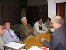 Delegación de VAPUMAS, visita al Secretario de Minería de Salta