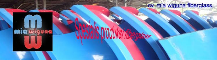 produksi fiberglass