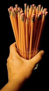 Jar of Pencils